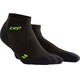 cep Ultralight Low Cut - Calcetines Running Hombre - verde/negro